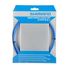 Set de cable de freno Shimano Road con PTFE azul